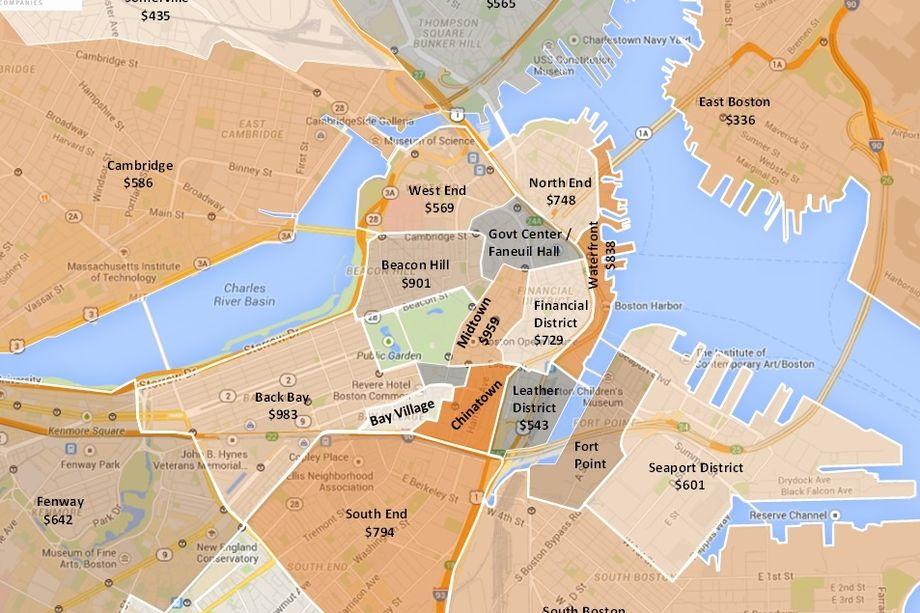 Seaport Edges Back Bay as Boston's Priciest Condo Market